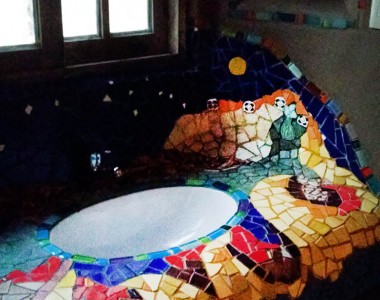 Pileta de Mosaicos